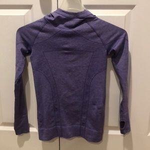 Purple Ivivva size 10 long sleeve with hood